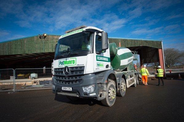 Ready Mix Concrete | Pat Munro Ltd | North Scotland